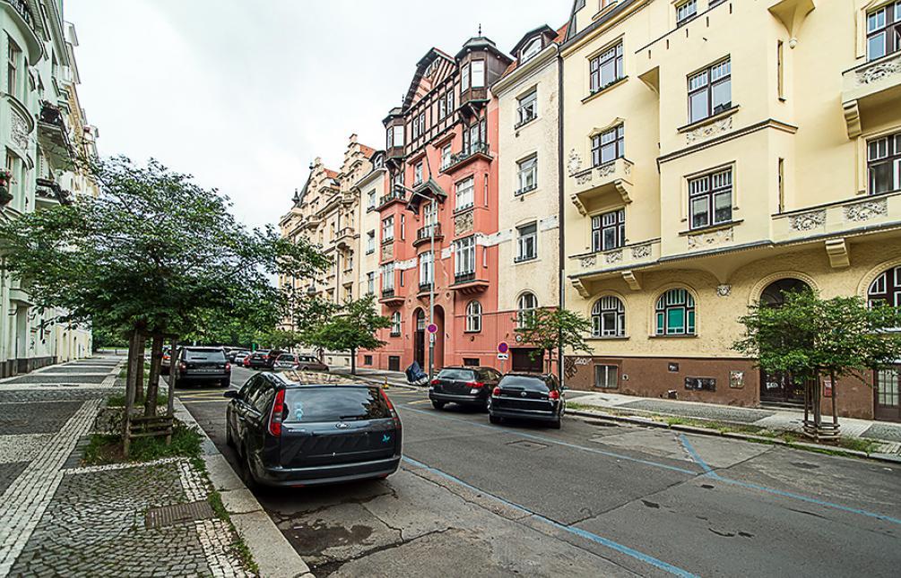 APARTMENT FOR RENT, street Na Švihance, Prague 2 - Vinohrady