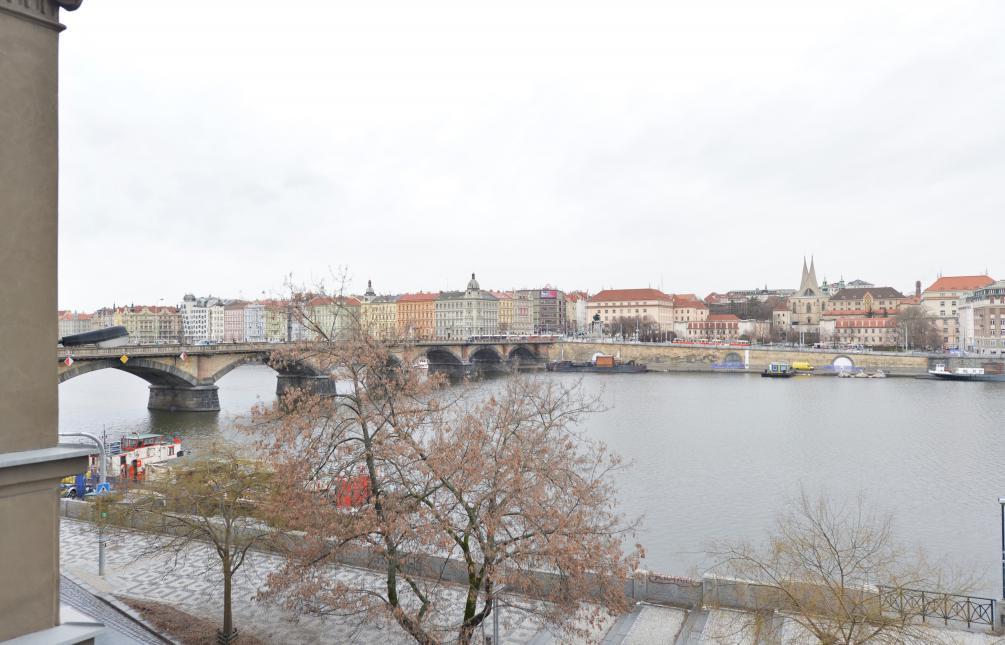 APARTMENT FOR RENT, street Hořejší nábřeží, Prague 5- Smíchov