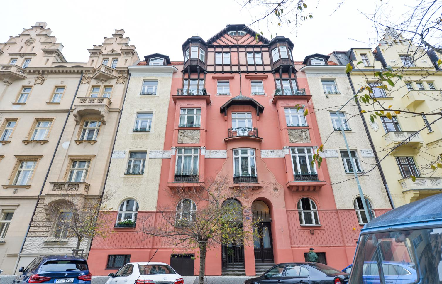APARTMENT FOR RENT, street Na Švihance, Prague 2 - Vinohrady