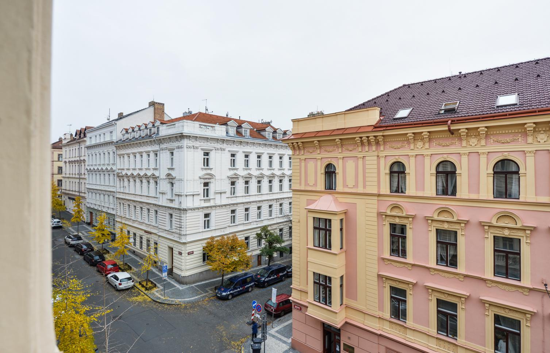 APARTMENT FOR RENT, street Máchova, Praha 2