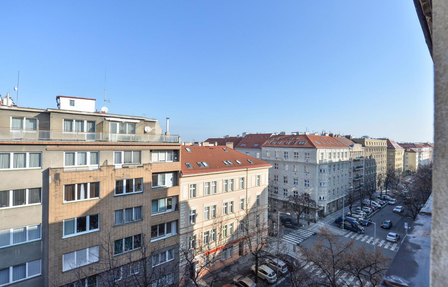 APARTMENT FOR RENT, street Lucemburská, Praha 3