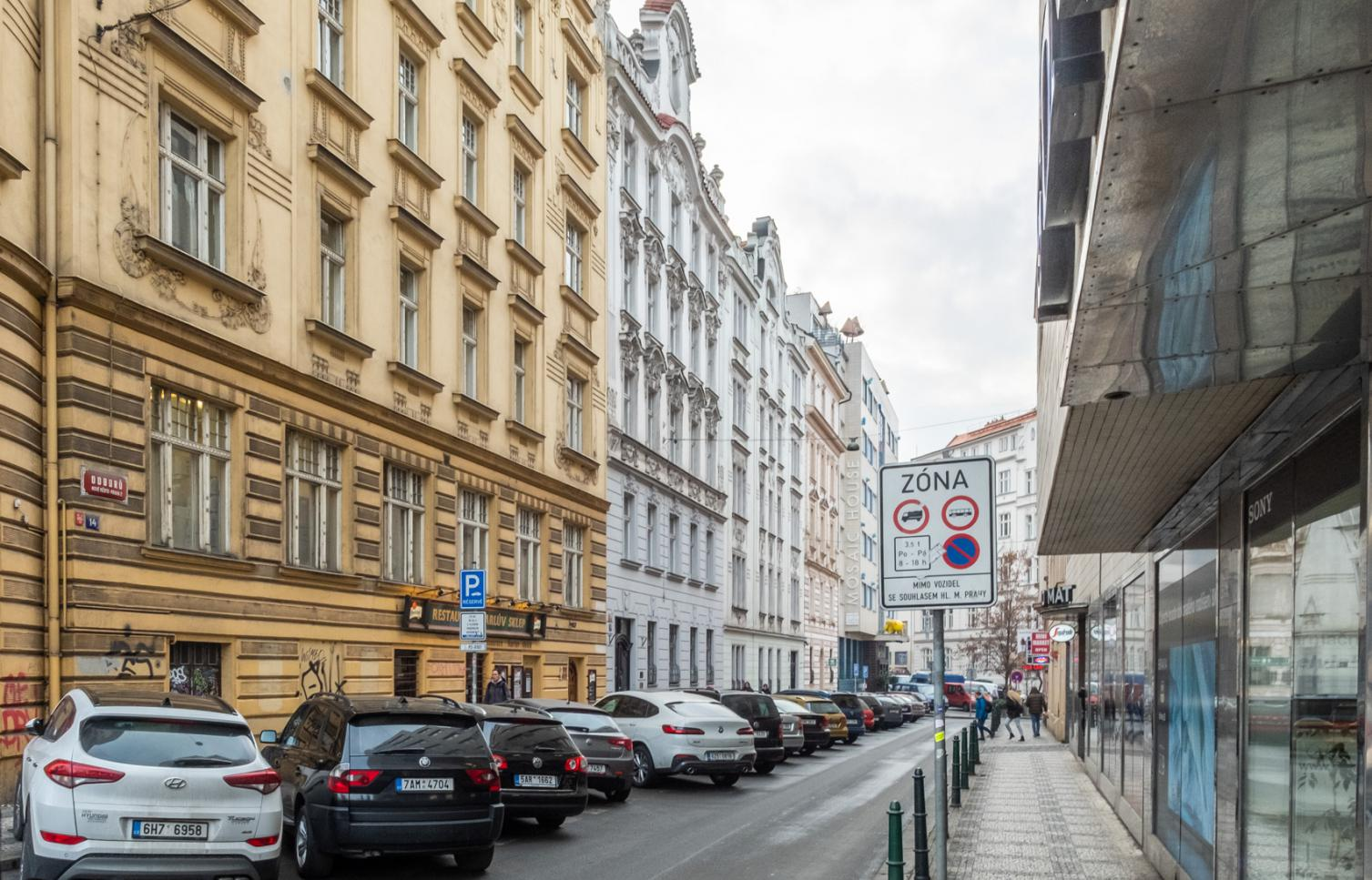 APARTMENT FOR RENT, street Odborů, Prague 2 - New Town