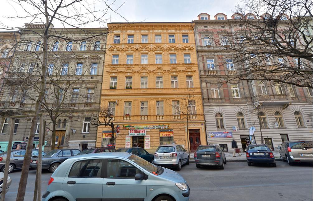 APARTMENT FOR RENT, street Budečská, Prague 2 - Vinohrady